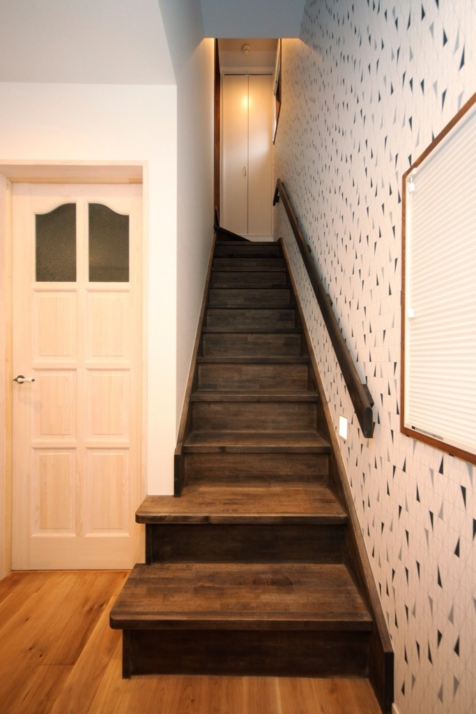階段を考える!〜嵐のような天気→室内で過ごしたい1日〜