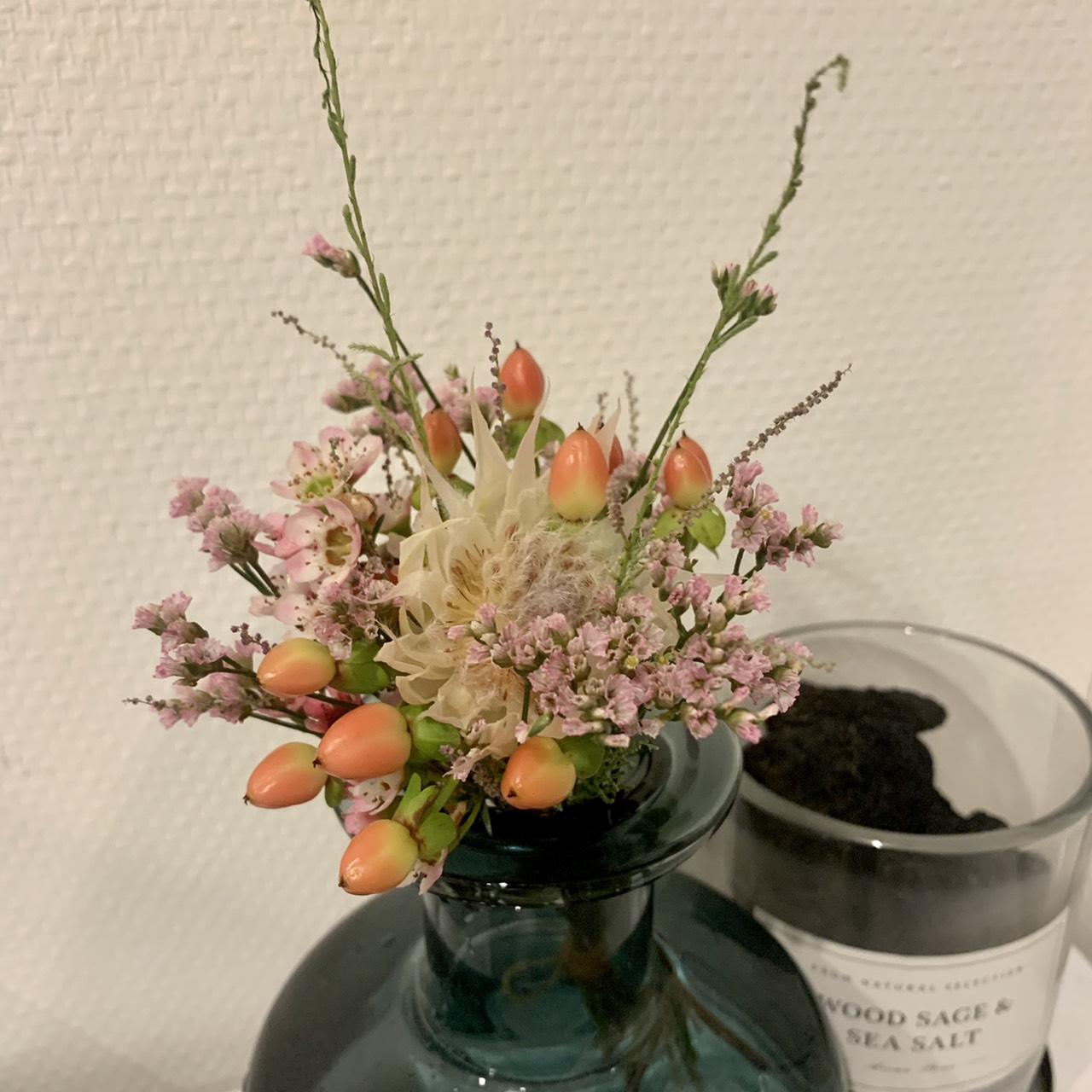お花を飾ってみました