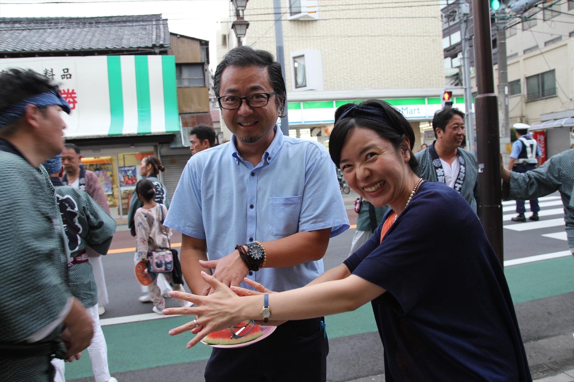 みんなで神輿を担ごう!大宮中山道祭武蔵一宮氷川神社例大祭に参加しました!