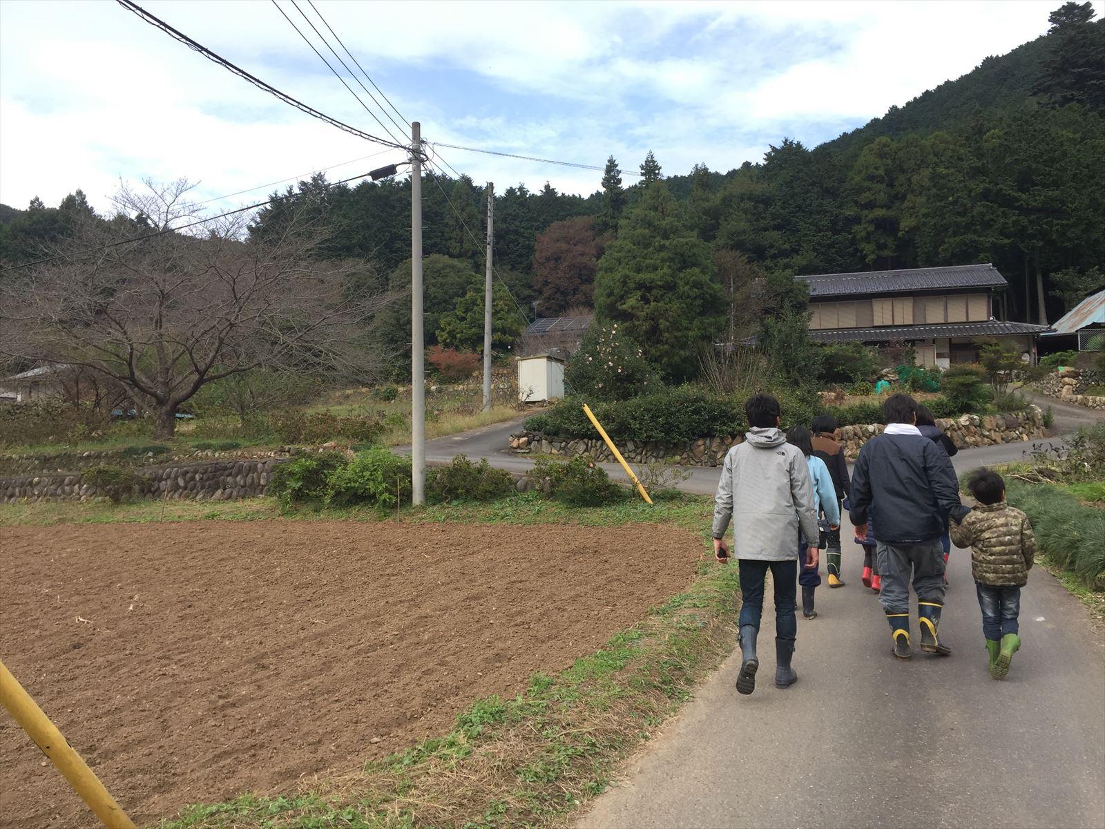 10/30(日)今年最後となる◆小川町里山保全活動「沢掃除」◆参加しました!】