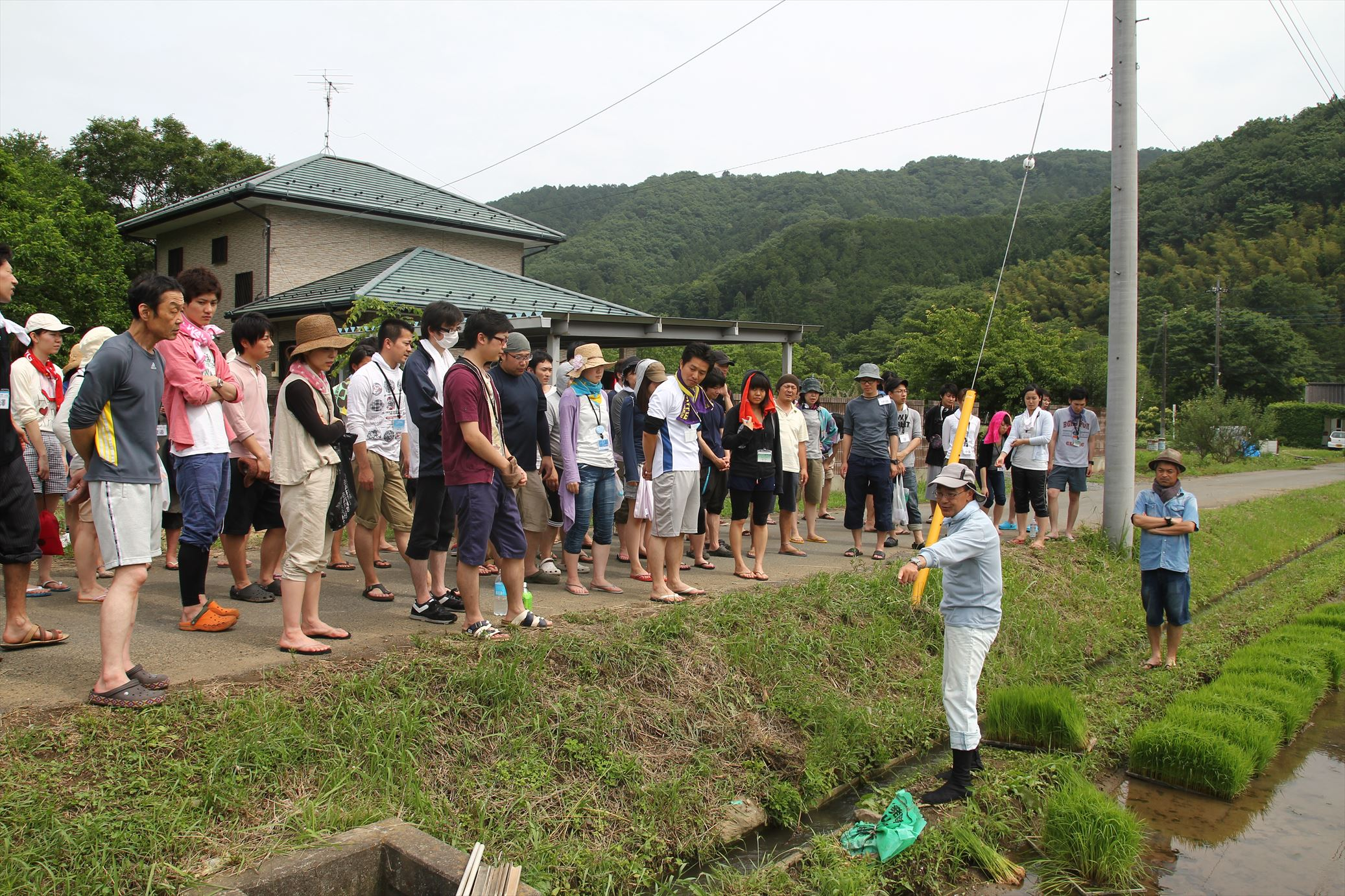 6月10日☆農業研修 田植え編