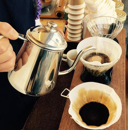 北越谷駅前で美味しいモーニングコーヒー。ハンドドリップ「ノックコーヒー」さん。
