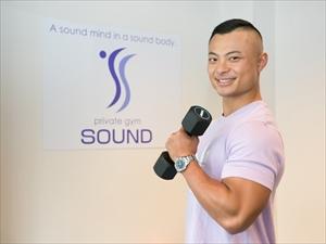 ①ワークショップ 食事とトレーニング private gym SOUND_R