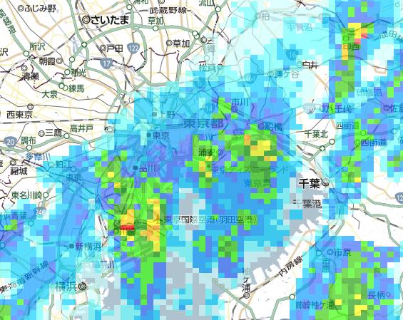 市 レーダー 雨雲 土浦 天気