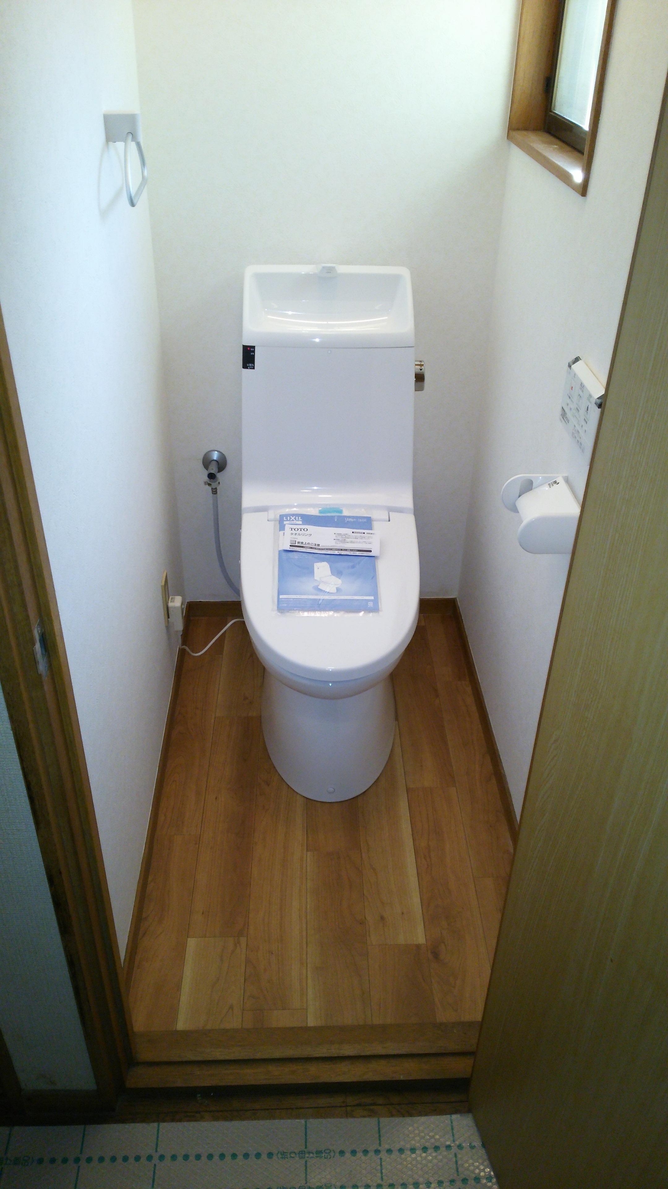 トイレ交換の極意を伝授~排水芯~③