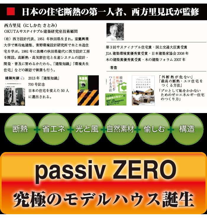 passiv ZERO   パッシブゼロの5つの要素