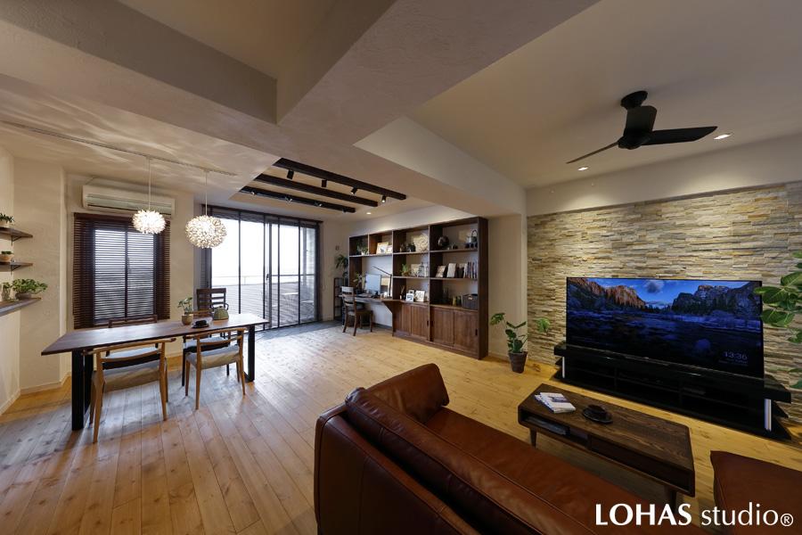 自宅でリゾート気分 -ゆったり開放的なLDK-(マンション)