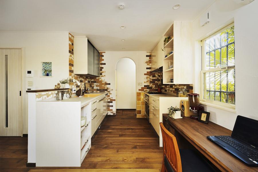 キッチンが叶える彩りある暮らし(一戸建て)