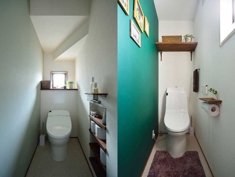 トイレ2箇所の様子