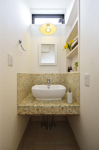 1階洗面室の様子
