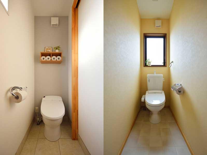 トイレ(1階・2階)の様子