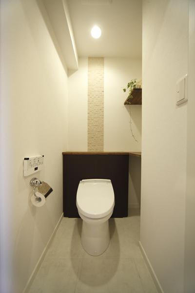 すっきりとした機能美・トイレの様子
