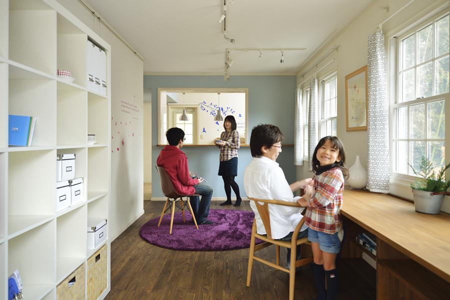 2世帯住宅の再生-インテリアで楽しむ家へ-(一戸建て)