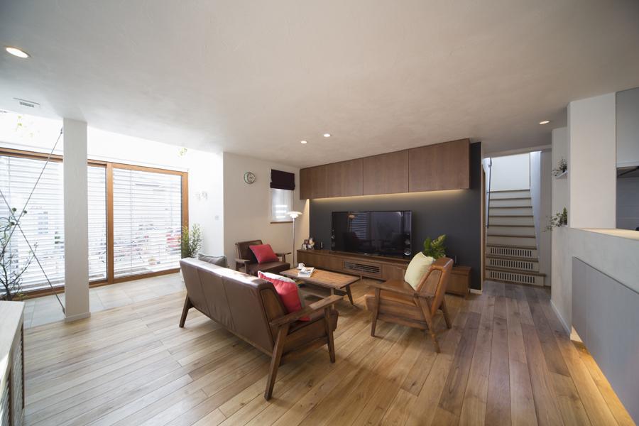 「人と空間」 快適性能でつなぐ家(一戸建て)