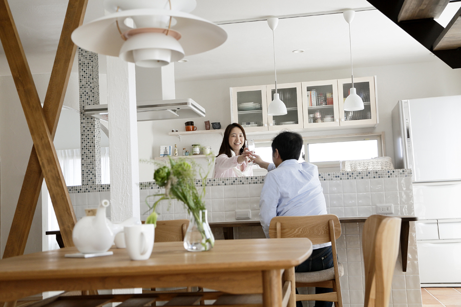 passiv designで3代住み継げる家 -光と風の心地よい空間-(一戸建て)