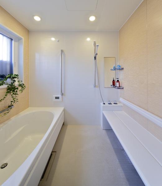 バリアフリー対応の浴室の様子