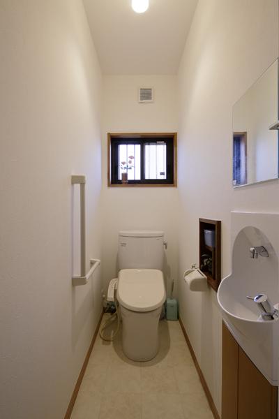 バリアフリーに対応したトイレです