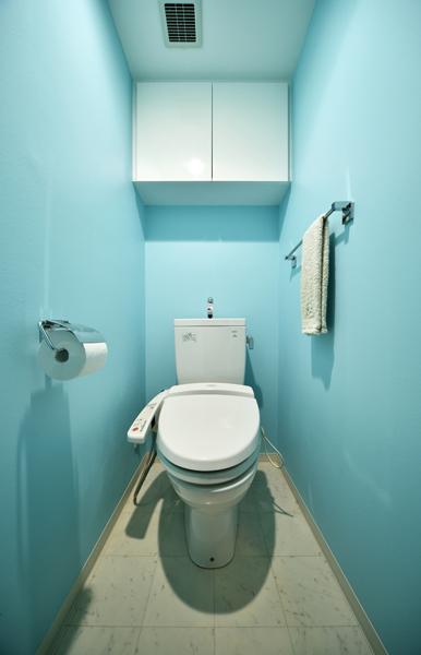 爽やかなトイレの様子