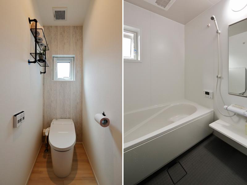 トイレ・浴室の様子