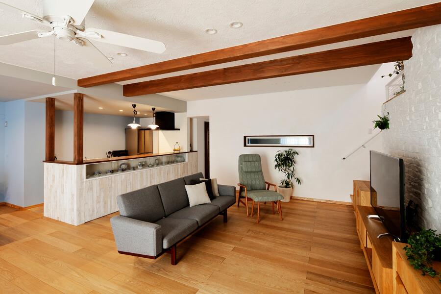 『素敵』をコレクトした Passivなわが家 -リラックス感のある上質なカジュアル空間- (新築・注文住宅)