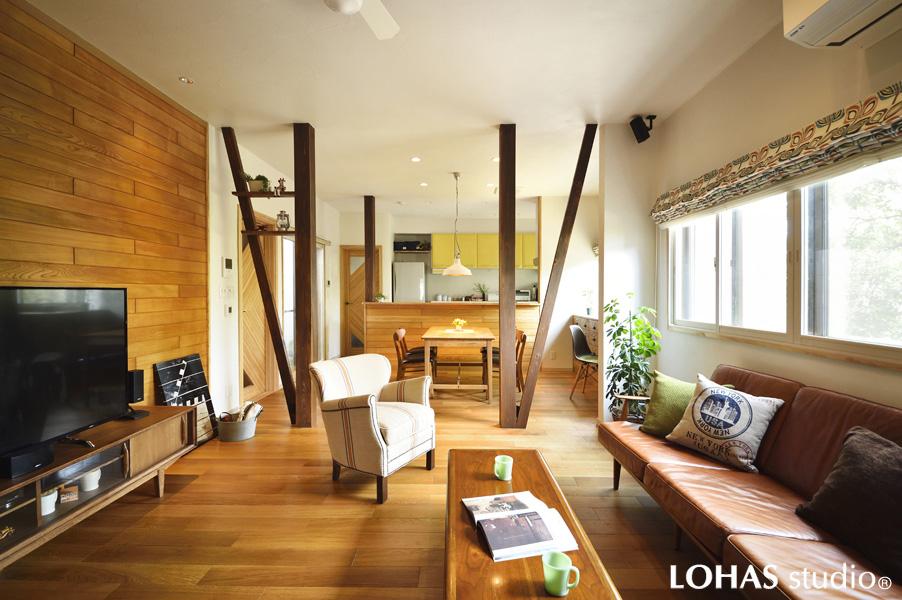 「北向きの部屋」が暖かい 温もりの木の家(一戸建て)