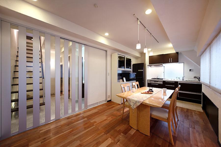 スマート・サイレント&スムースな空間の家(マンション)