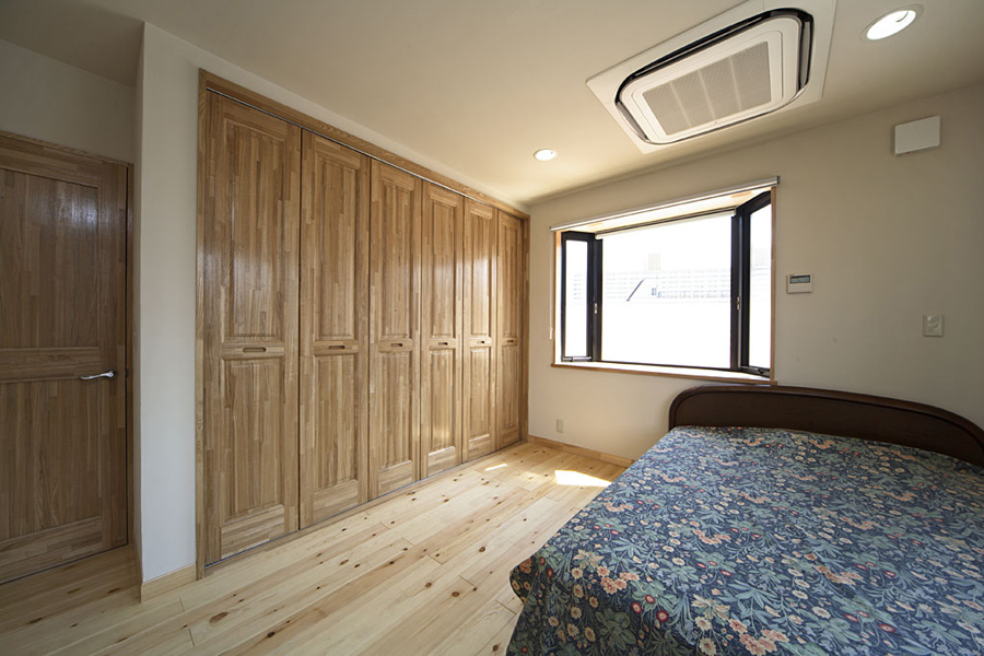 3Fの寝室の様子