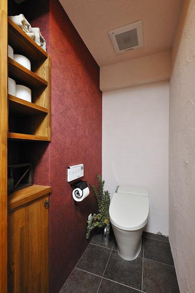 トイレの様子。