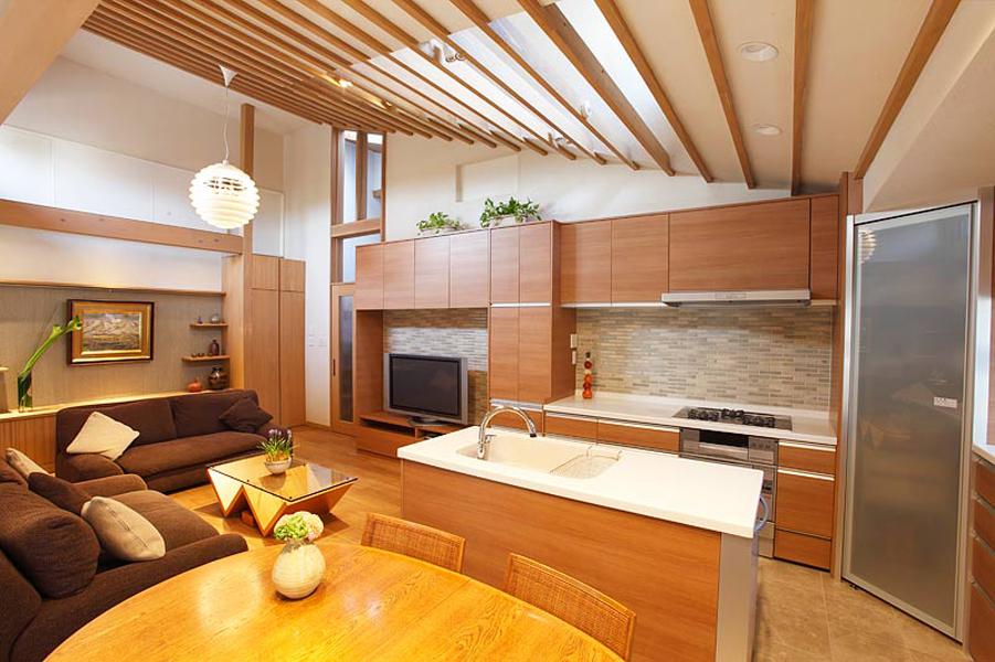 快遊空間ー和食器も似合う北欧スタイルのLDK(戸建)