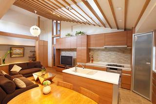快遊空間ー和食器も似合う北欧スタイルのLDK(一戸建て)