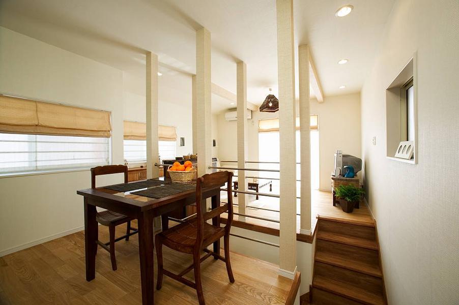 日当たりのよい2階をひとつながりのLDKに(一戸建て)