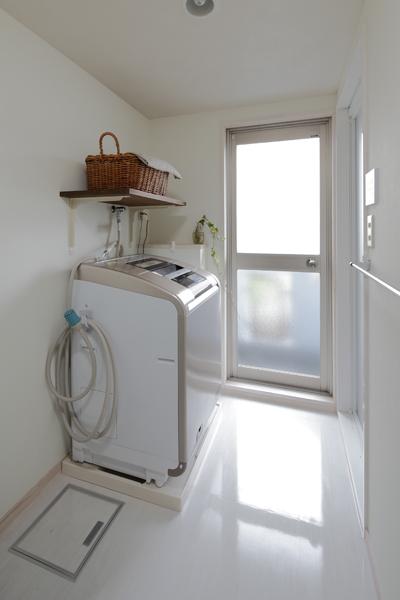 洗面室の様子