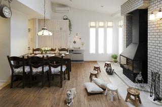 高断熱住宅-家族をくるむ暖炉のある家-(一戸建て)