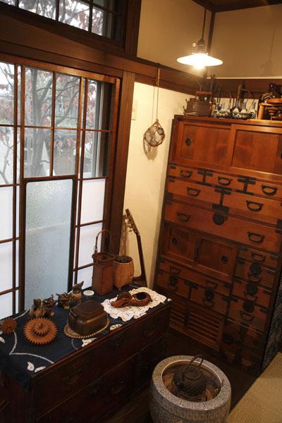 家具と馴染むスペースの様子