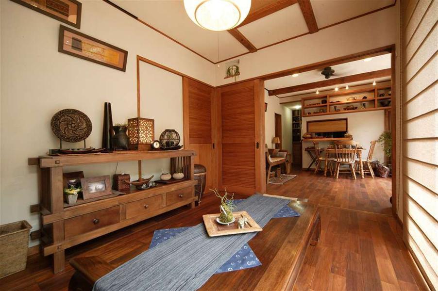 心と体にやさしい自然素材でアジアンテイストなLOHAS(ロハス)空間を(一戸建て)