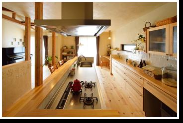 キッチン空間アイデアコンテスト 優秀賞 施工事例2