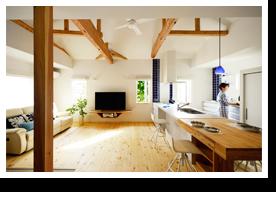 施工事例 No.0402 新築のような再生。ふたりが心から安らぐ家。(一戸建て)