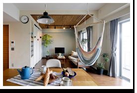 No.0401こどもと楽しめるインドアガーデン、爽やかなカフェ空間。(マンション)  画像
